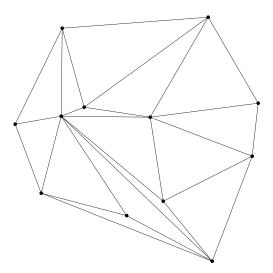 Une los puntos con esta condición y aprenderás lo que es una triangulación