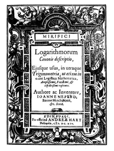 Yo también viví engañado: El logaritmo neperiano no usaba la base e