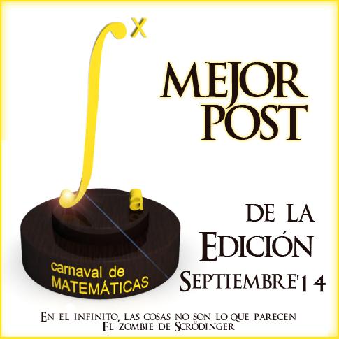 """Premios de la """"Edición 5.6: Paul Erdős"""" del Carnaval de Matemáticas"""
