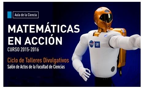 """[Anuncio] Charla en Santander, en el ciclo """"Matemáticas en Acción"""""""