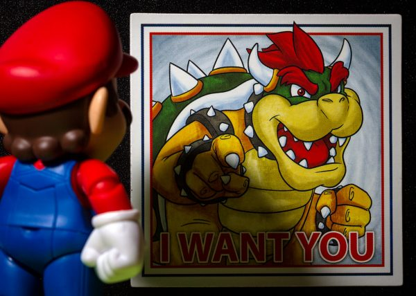 I want you - Mario y Bowser